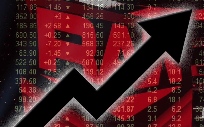 money-raw-up-stock