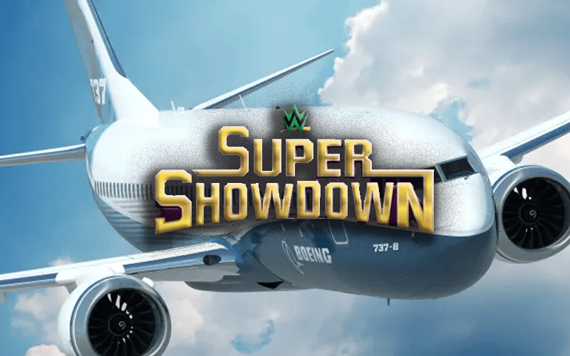 super-showdown-plane-saudi-wwe