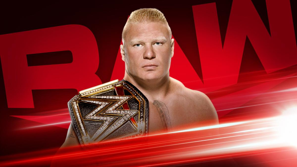 brock lesnar raw champion