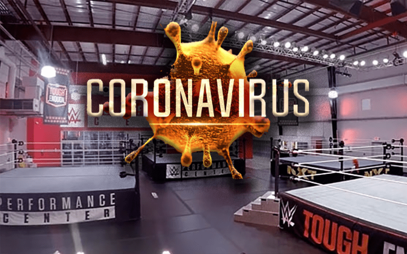 wwe-performance-center-coronavirus