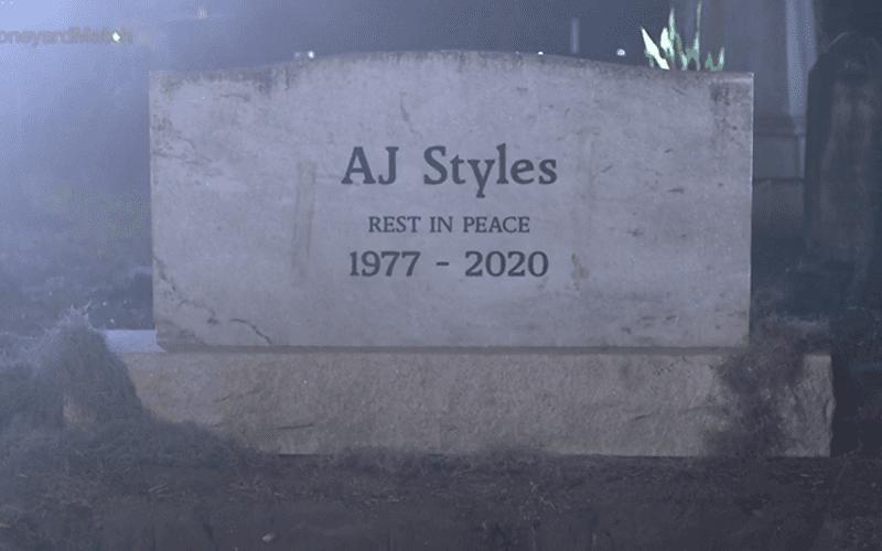 aj-styles-dead-tombstone