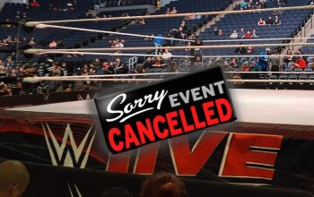 WWE Cancels Next Scheduled Live Event