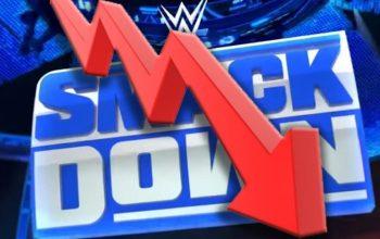 WWE SmackDown Viewership Falls Down This Week