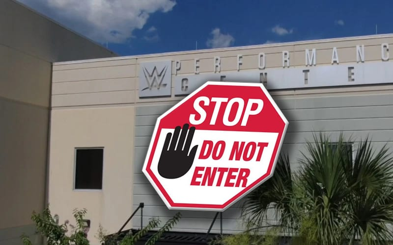 wwe-performance-center-stop-do-not-enter