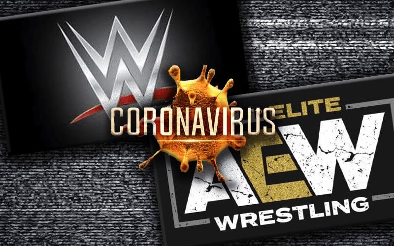 aew-coronavirus-wwe