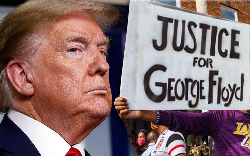 trump-george-floyd