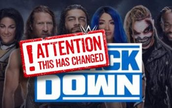 WWE Changes Official SmackDown Graphic — New Superstars Added