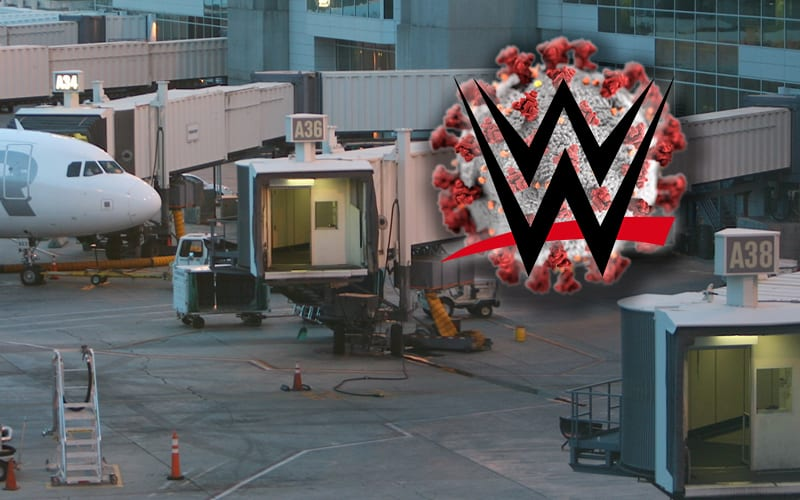 covid-airport-wwe
