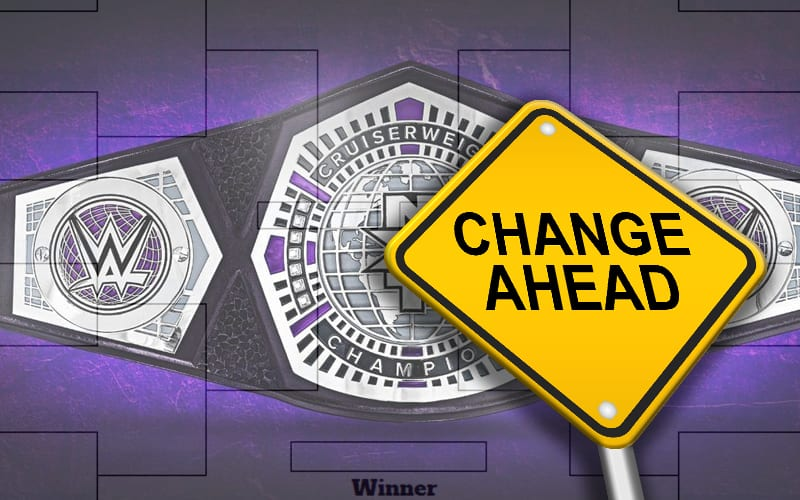 cruiserweight-tourney-change