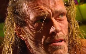 Edge Cried When Seeing Live Fans At WrestleMania 37