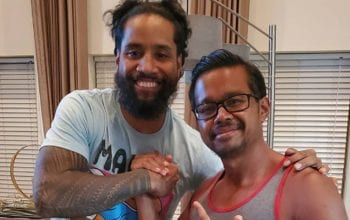 Jimmy Uso Appears Happy, But He's Letting His Hair Go In New Photo