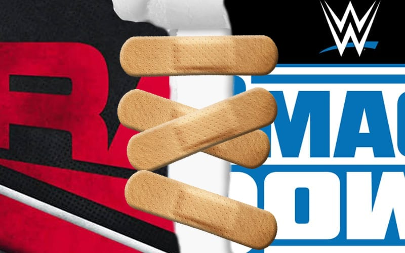 raw-smackdown-bandaid-brand split