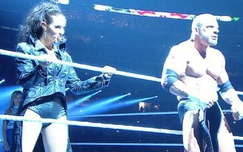 Stephanie McMahon Reveals Secret Behind WrestleMania 34 Water Spitting Entrance With Triple H
