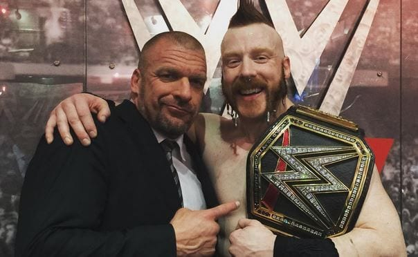 Sheamus and Triple H real life friendship