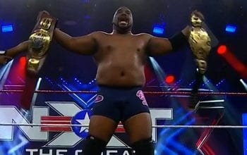 Keith Lee Becomes Double Champion In WWE NXT At Great American Bash