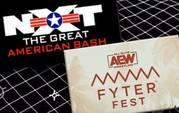 Viewership For AEW Fyter Fest vs WWE NXT Great American Bash Night One IS IN