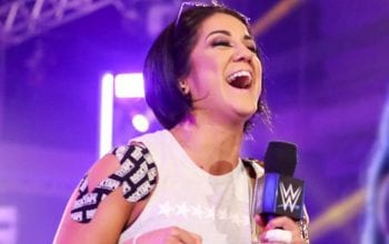 Bayley Shows Off New Design Shaved In Her Hair To Flaunt Recent Achievement