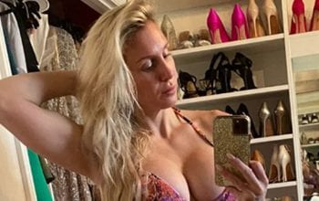 Charlotte Flair Goes Back To The Basics With Bikini Thirst Trap Mirror Selfie
