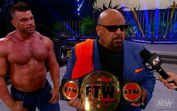 Taz Introduces FTW World Title To AEW & Crowns Brian Cage Champion