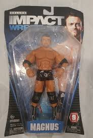 NWA Nick Aldis NWA WORLD CHAMPION TNA DELUXE IMPACT SER