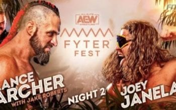 Betting Odds For Lance Archer vs Joey Janela At AEW Fyter Fest Revealed