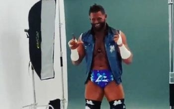 Matt Cardona Takes Photo Shoot In New Ring Gear