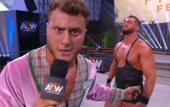 MJF Says Loss At AEW Fyter Fest Doesn't Count Against Him