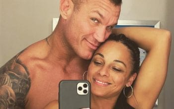 Randy Orton & Wife Heat Up Instagram With Nude Bathroom Selfies