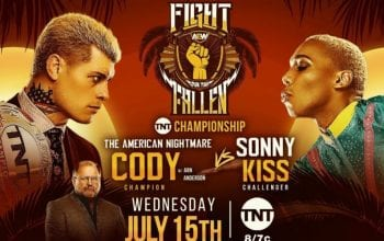Cody Rhodes Fires Back At Fan's Homophobic Tweet About Sonny Kiss