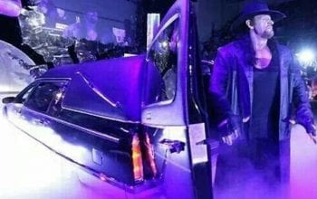 The Undertaker Really Traveled Around In A Souped-Up Hearse For WWE