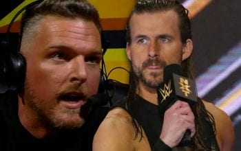Adam Cole Reacts To Pat McAfee's Actions On WWE NXT