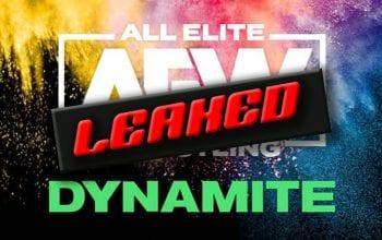 Full Spoilers LEAK For Next Episode Of AEW Dynamite