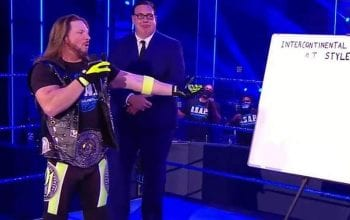 Joseph Parks Apologizes To AJ Styles For 'Marker-Gate' On WWE SmackDown