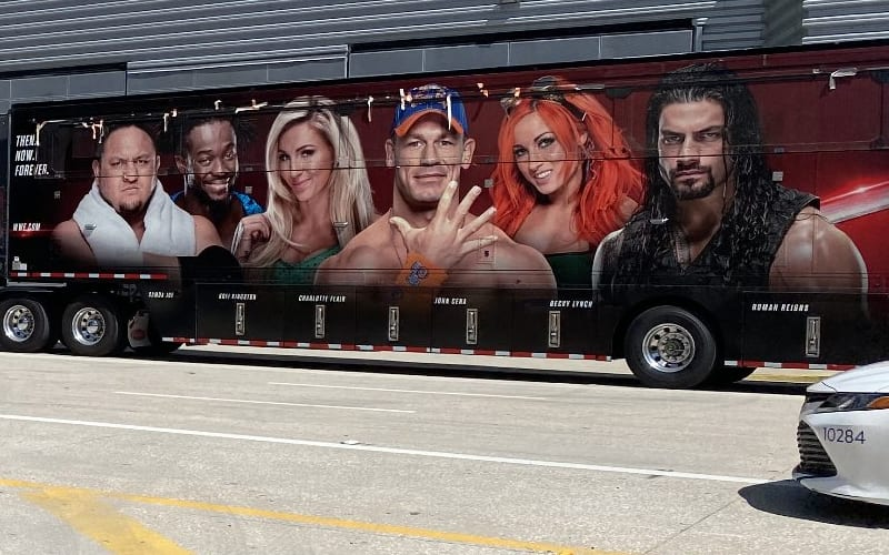 wwe production truck