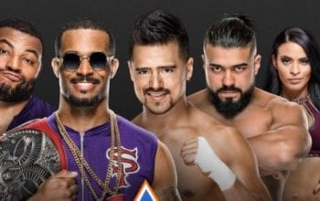 Betting Odds For Street Profits vs Andrade & Angel Garza At WWE SummerSlam Revealed