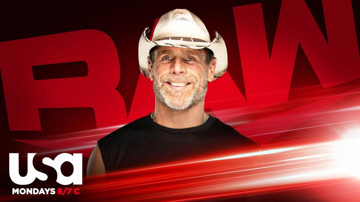 shawn michaels raw