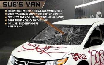 Santana Teases Trent's Mom's Van In Upcoming AEW Action Figure Line