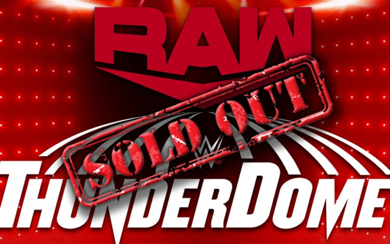 thunderdome-raw-sold-out