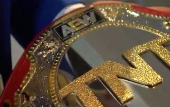 First Look At Finished AEW TNT Title