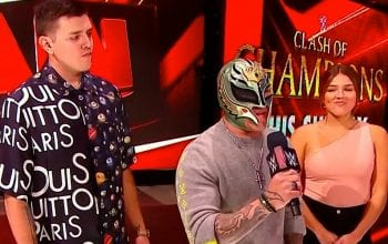 WWE Runs Paternity Test Angle With Rey Mysterio On RAW This Week