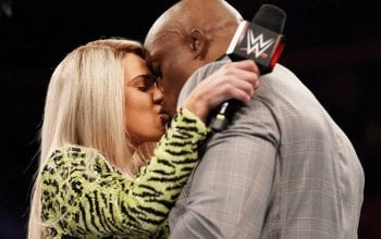 WWE Told Lana & Bobby Lashley To 'Aggressively Kiss' In Their Angle On RAW