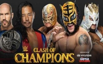 Betting Odds For Cesaro & Nakamura vs Lucha House Party At WWE Clash of Champions Revealed