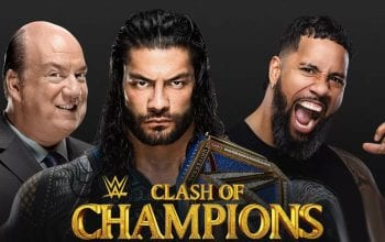 WWE Clash Of Champions Full Card & Start Time