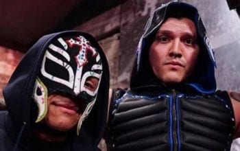 Rey Mysterio Talks Winning WWE Tag Team Gold With Dominik Mysterio
