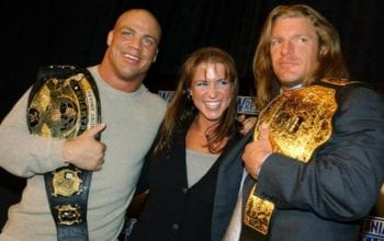 Did Triple H REALLY Cancel Romantic Triangle With Kurt Angle & Stephanie McMahon?