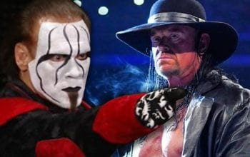The Undertaker Says Match Against Sting Looks Better On Paper Than It Would Be