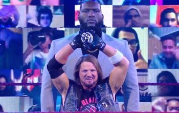 Who Is AJ Styles' New Bodyguard Jordan Omogbehin On WWE RAW