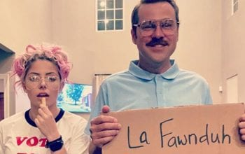 Alexa Bliss & Ryan Cabrera Nail Napoleon Dynamite Costumes For Halloween