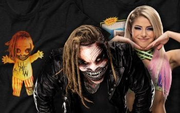 WWE Drops Creepy New Bray Wyatt Merch With Alexa Bliss