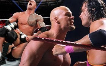 Bret Hart Says The Rock & Steve Austin Had 'The Worst' Sharpshooters